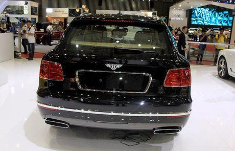 Bentley Bentayga chinh hang ra mat khach hang Viet Nam - Anh 5