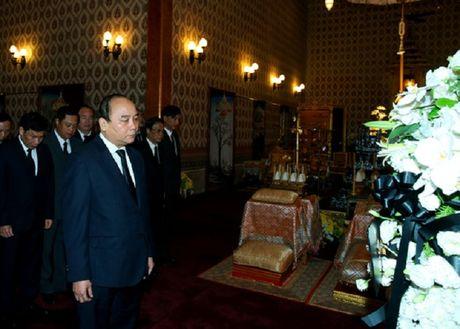 Thu tuong Nguyen Xuan Phuc vieng nha vua Thai Lan - Anh 2