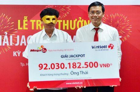 Vietlott khuyen cao khong mua ve Mega 6/45 ban dao - Anh 1