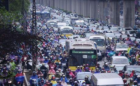 Ha Noi co the cam xe may vao nam 2030 - Anh 1