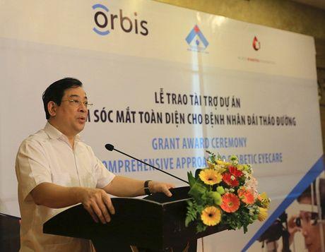 Orbis ho tro xay dung mo hinh tam soat benh vong mac Dai thao duong dau tien o Viet Nam - Anh 1