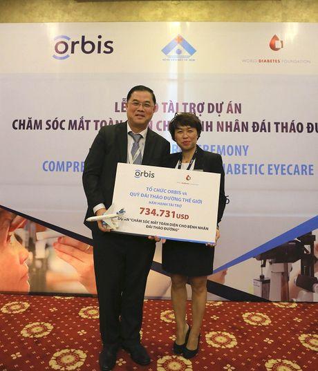 Orbis ho tro xay dung mo hinh tam soat benh vong mac Dai thao duong dau tien o Viet Nam - Anh 4