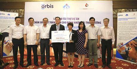 Orbis ho tro xay dung mo hinh tam soat benh vong mac Dai thao duong dau tien o Viet Nam - Anh 5