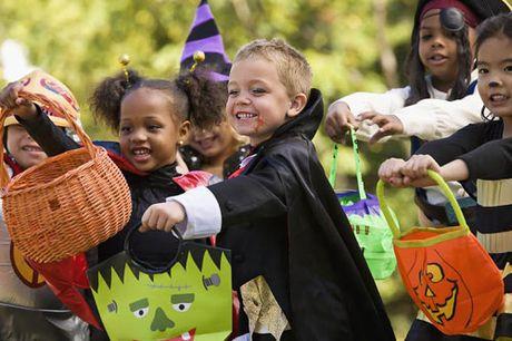 Nhung tro choi vui nhon cho tre trong mua Halloween - Anh 1