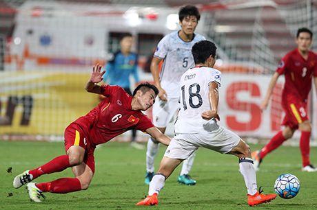 HLV U19 Nhat Ban ly giai viec dung doi hinh hai dau Viet Nam - Anh 1