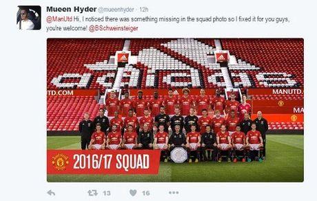 Man United bi 'nem da' vi khong cho Schweinsteiger chup anh cung toan doi - Anh 6