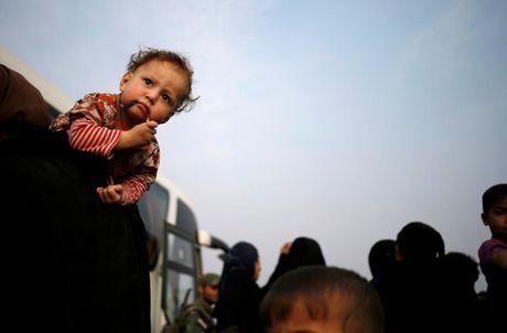 Am anh nhung anh mat tre ti nan Iraq chay tron bao luc o Mosul - Anh 17