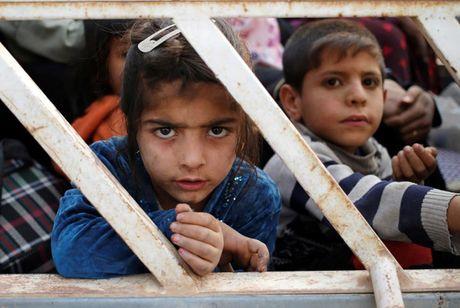 Am anh nhung anh mat tre ti nan Iraq chay tron bao luc o Mosul - Anh 18
