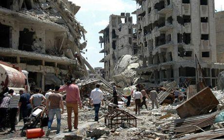 My to Nga, Syria khong kich vao truong hoc khien 26 nguoi thiet mang - Anh 1