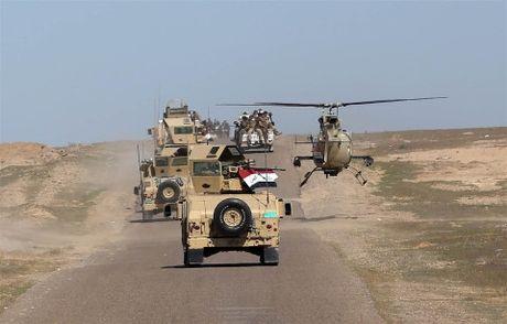 Chien dich giai phong Mosul da gianh lai gan 100 lang mac tu tay IS - Anh 1