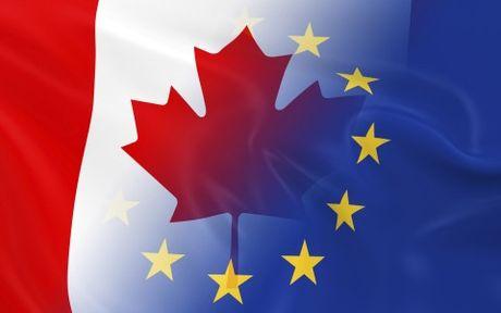EU se chinh thuc phe chuan Hiep dinh Canada-EU trong ngay 29/10 - Anh 1