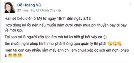 Thuc hu tin don Hari Won ket hon voi Tran Thanh vao ngay 25/11 - Anh 1