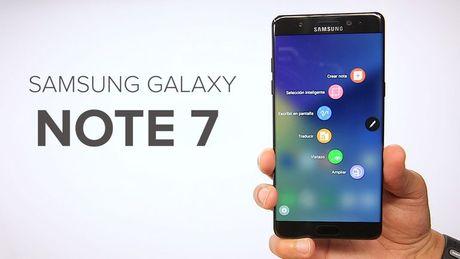 Su co Galaxy Note 7 it anh huong den kim ngach xuat khau - Anh 1