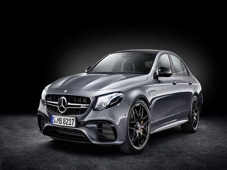 Mercedes-AMG E63 va E63S 2018 sap ra mat - Anh 1