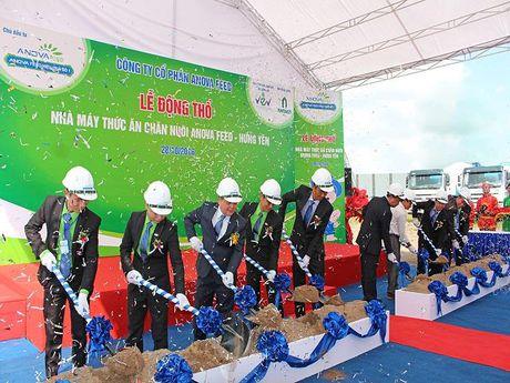 Anova Feed khoi cong nha may thuc an chan nuoi cong suat 250.000 tan/nam - Anh 1