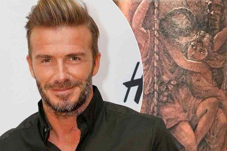 Ngam hinh xam moi sieu dep va chat cua David Beckham - Anh 1
