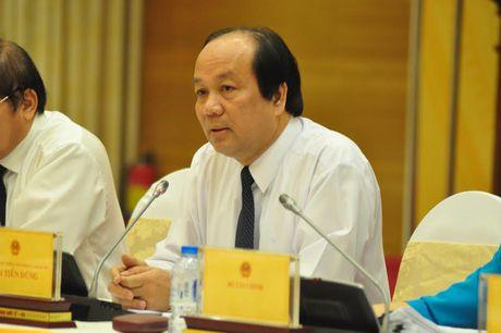 Nguoi phat ngon Chinh phu noi ve ket luan sai pham cua ong Vu Huy Hoang - Anh 1