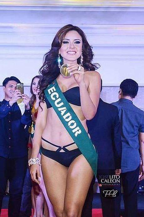 Ngam nhan sac long lay cua tan Hoa hau Trai dat Katherine Espin - Anh 8