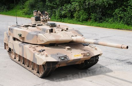 Sieu tang Duc Leopard 2A7+ lan dau tien toi dat Trung Dong - Anh 4