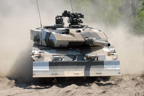 Sieu tang Duc Leopard 2A7+ lan dau tien toi dat Trung Dong - Anh 5