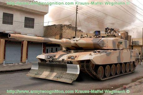 Sieu tang Duc Leopard 2A7+ lan dau tien toi dat Trung Dong - Anh 6