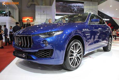 SUV hang sang Maserati Levante 'chot gia' 6,1 ty tai VN - Anh 1