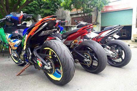 Bo ba Yamaha Exciter 150 'banh beo' do khung tai VN - Anh 2