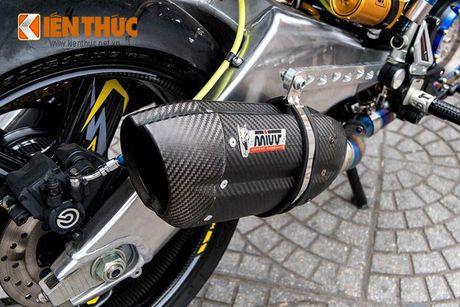 Bo ba Yamaha Exciter 150 'banh beo' do khung tai VN - Anh 4