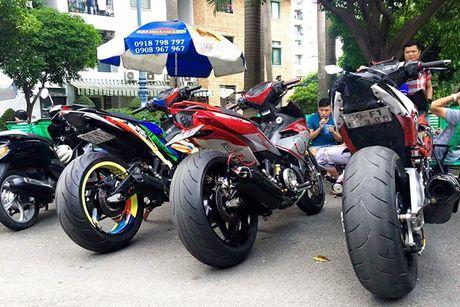 Bo ba Yamaha Exciter 150 'banh beo' do khung tai VN - Anh 5