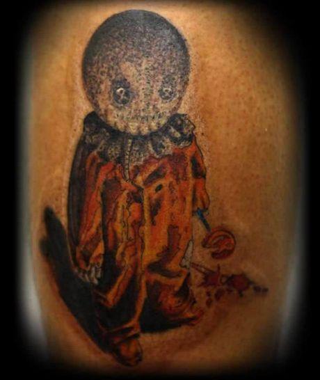 Chiem nguong cac mau tattoo an khach nhat mua Halloween - Anh 8