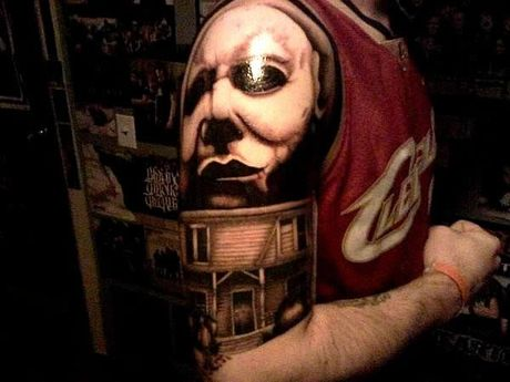 Chiem nguong cac mau tattoo an khach nhat mua Halloween - Anh 9