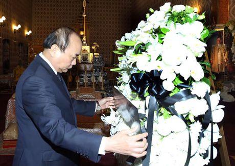 Thu tuong Nguyen Xuan Phuc vieng Nha vua Thai Lan - Anh 1