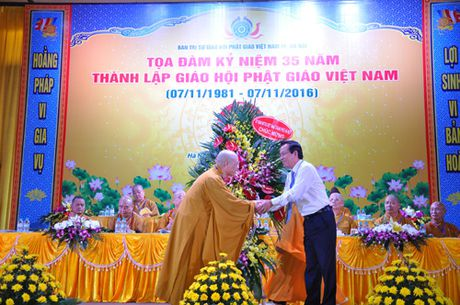 Ky niem 35 nam thanh lap Giao hoi Phat giao Viet Nam - Anh 1