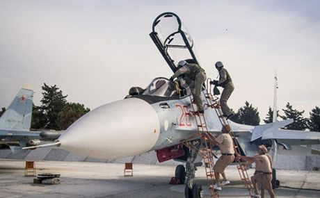 May bay chien dau Nga, My suyt va cham o Syria - Anh 1