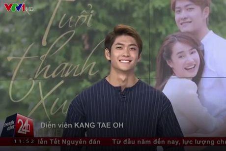 Kang Tae Oh bat ngo xuat hien o truong quay Chuyen dong 24h - Anh 1