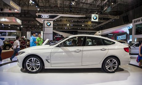 BMW 320i Gran Turismo gia 2,2 ty dong ra mat tai VIMS 2016 - Anh 1
