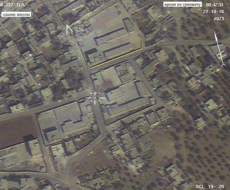 Video chung minh Nga khong nem bom truong hoc o Idlib, Syria - Anh 2