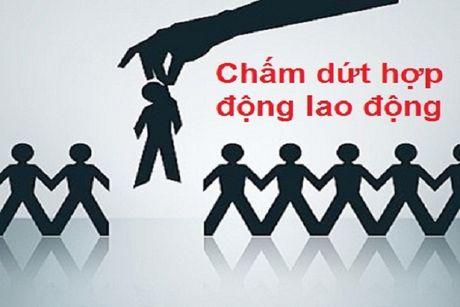 Quy dinh thoi gian bao truoc khi don phuong cat hop dong lao dong - Anh 1