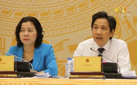 Bo Noi vu: Thanh tra gap thong tin mot So toan nguoi lam 'quan' - Anh 1
