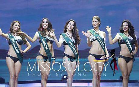 Chung ket hoa hau Trai Dat 2016: Miss Ecuador dang quang, Nam Em lot top 8 - Anh 4