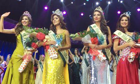Chung ket hoa hau Trai Dat 2016: Miss Ecuador dang quang, Nam Em lot top 8 - Anh 5