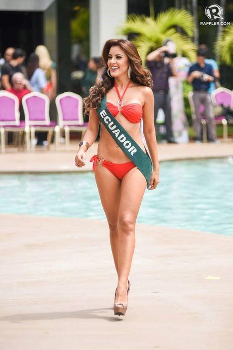 Chung ket hoa hau Trai Dat 2016: Miss Ecuador dang quang, Nam Em lot top 8 - Anh 6
