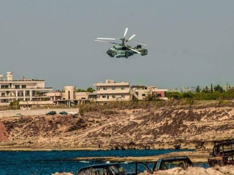 Truc thang canh bao som Ka-31 cua Nga bat ngo xuat hien tai Syria - Anh 1