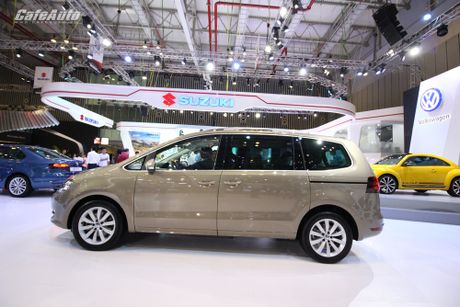 Volkswagen Sharan 2016 xe gia dinh co gia ban 1,9 ty dong - Anh 10
