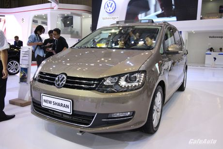 Volkswagen Sharan 2016 xe gia dinh co gia ban 1,9 ty dong - Anh 1