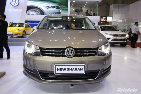 Volkswagen Sharan 2016 xe gia dinh co gia ban 1,9 ty dong - Anh 5