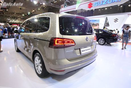 Volkswagen Sharan 2016 xe gia dinh co gia ban 1,9 ty dong - Anh 9