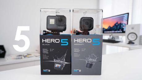 GoPro Hero 5 len ke Viet ngay 30/10 gia tu 7 trieu - Anh 1