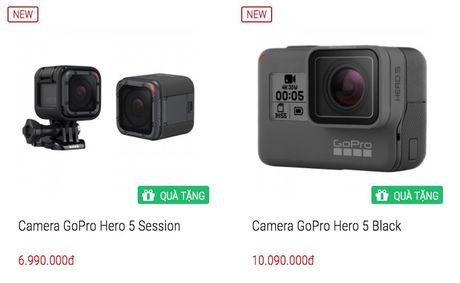 GoPro Hero 5 len ke Viet ngay 30/10 gia tu 7 trieu - Anh 2