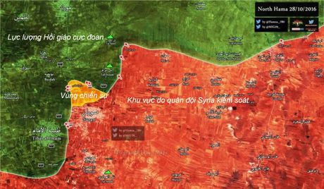 Quan doi Syria chuan bi tan cong lon tai Hama - Anh 1